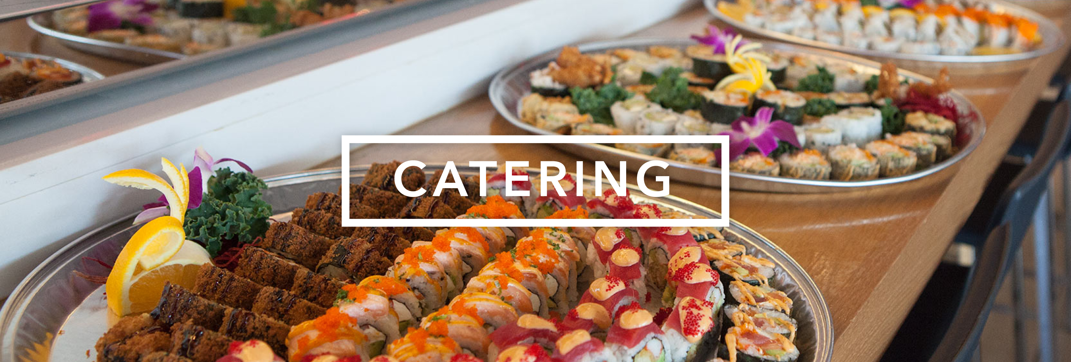 Bento Asian Kitchen Sushi Catering Options