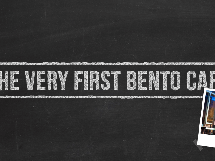 Very First Bento Cafe Blog Post