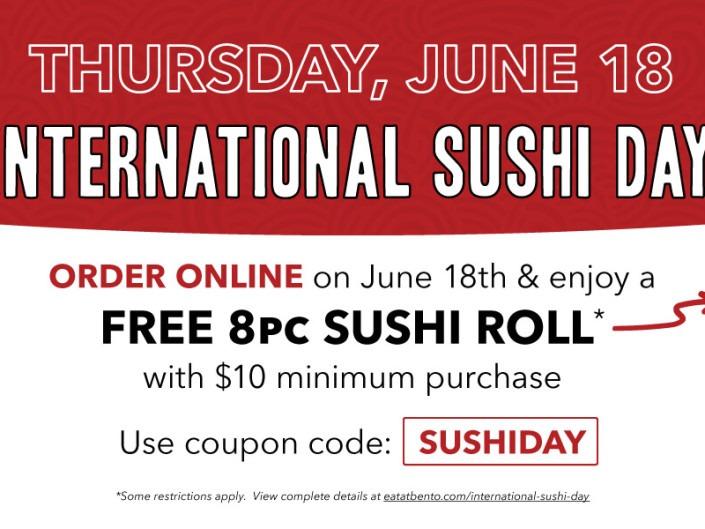 International Sushi Day - June 18