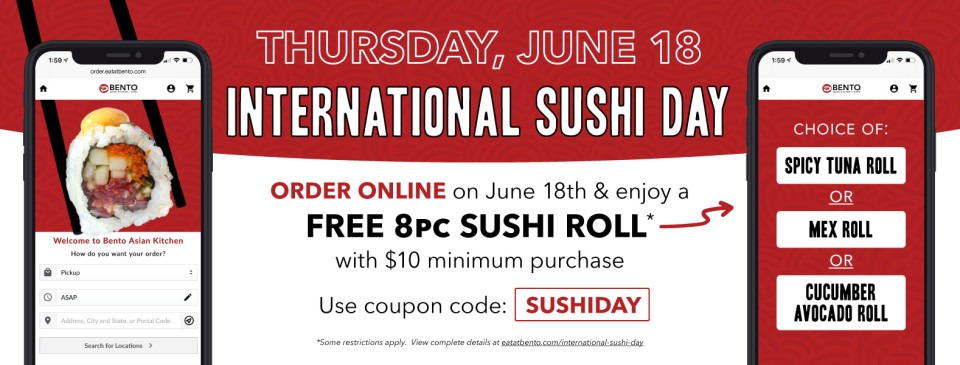 International Sushi Day - June 18